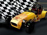 "geradovana.lt nuotr./Lenktyninis automobilis ""Lotus Super 7""."