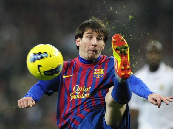 AFP/Scanpix nuotr./Leonelos Messi