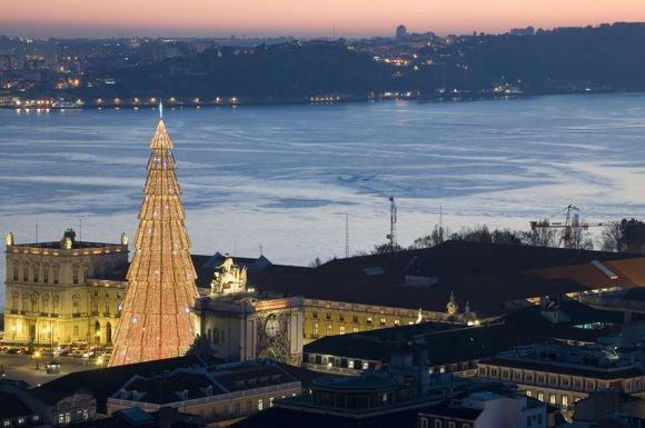 123rf.com nuotr./Kalėdos Lisabonoje