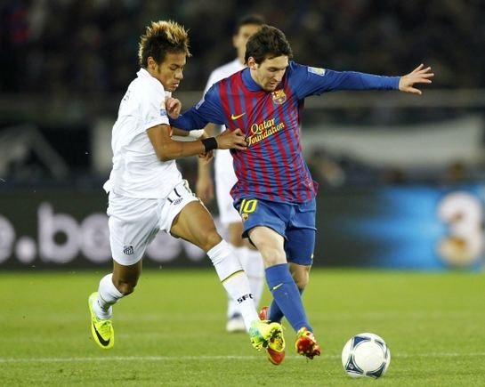 Reuters/Scanpix nuotr./Neymaras bando sustabdyti Lionelį Messi
