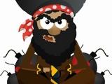 """""""Edukacinės sistemos"""" nuotr./Kadangi """"Apple"""" neįtiko arabo–teroristo klišė, šis veikėjas buvo pakeistas piratu."""