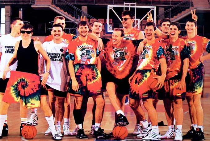 Lithuanian basketball team at 1992 Barcelona Olympic Games