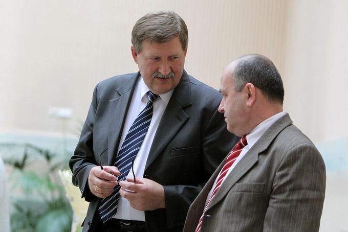 Antanas Nesteckis ir Artūras Orlauskas