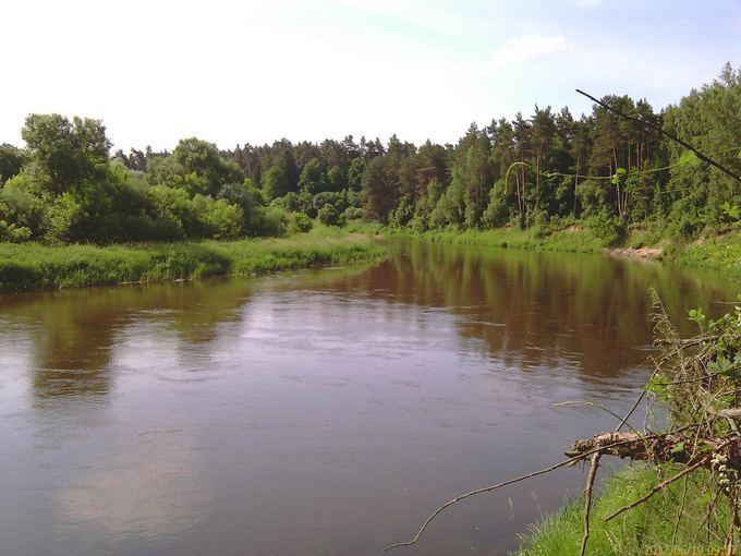 Mindaugo Dambrausko nuotr./Nuostabi vieta and `ventosios upės kranto