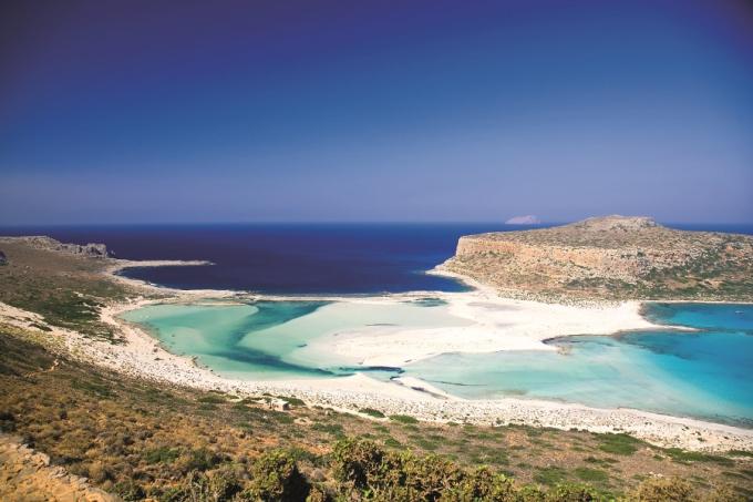 Novaturo nuotr./Mėlynoji lagūna Kretoje