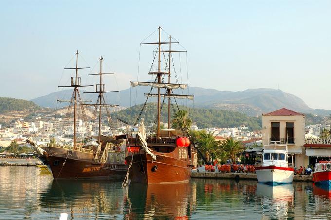 Senas uostas Kretoje