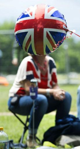 """AFP/""""Scanpix"""" nuotr./Jungtinės Karalystės vėliava"""