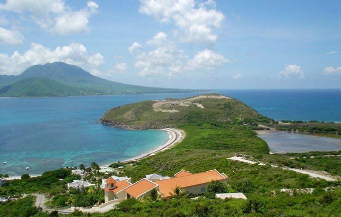 Wikimedia Commons nuotr./Sent Kitsas ir Nevis