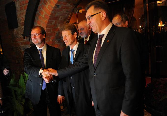 Viktor Uspaskich, Rolandas Paksas, and Algirdas Butkevičius
