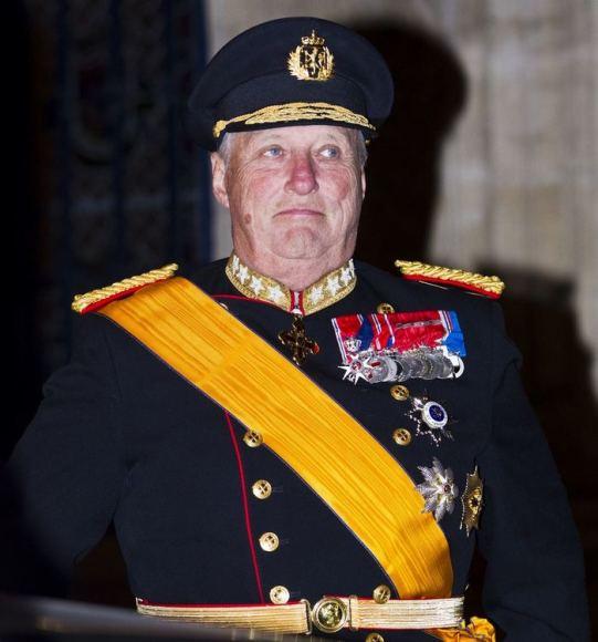"""Scanpix"" nuotr./Norvegijos karalius Haraldas"