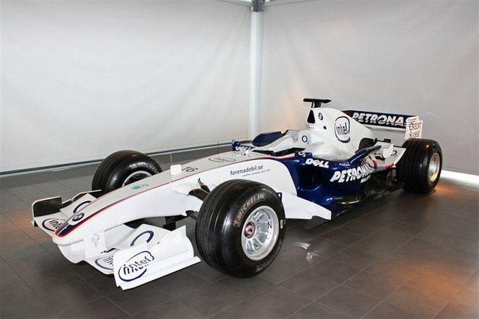 """F-1 """"BMW Sauber"""" bolidas"""