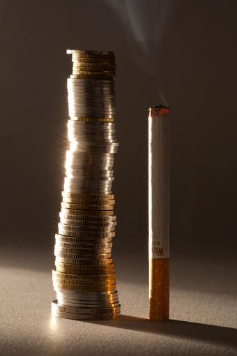 Andriaus Ufarto/BFL nuotr./Cigarečių kaina