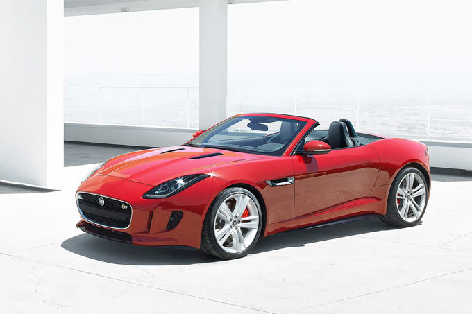 Gamintojo nuotr./Jaguar F-type