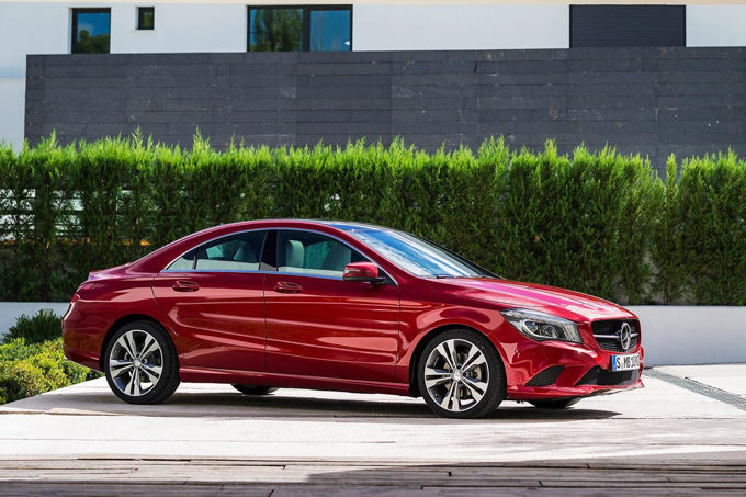 Gamintojo nuotr./Mercedes-Benz CLA