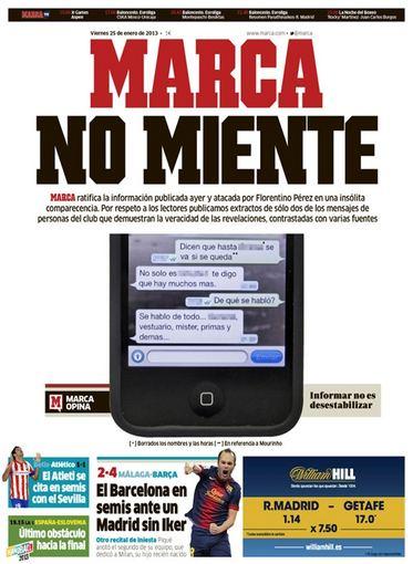 "marca.com nuotr./Penktadienio ""Marca"" viršelis."