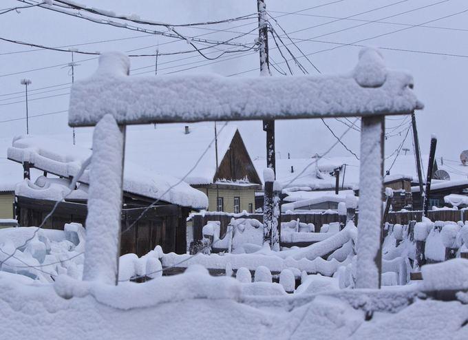 Rusijos žiema.