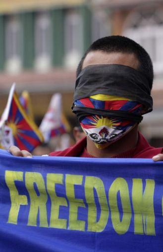 Protestas už Tibetą
