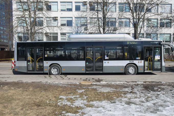 Greitaisiais maršrutais važinės naujieji MAN autobusai.