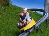 tarzans.lv nuotr./ 400 metrų ilgio vasarinių rogučių trasa (Taboggan track), Siguldoje