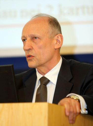 VLK nuotr./Valstybinės ligonių kasos prie Sveikatos apsaugos ministerijos (VLK) direktorius Algis Sasnauskas