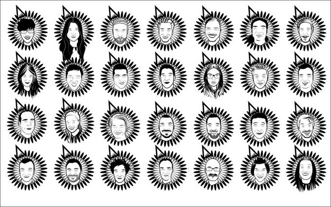 Asmeninio albumo nuotr./Olando Maurice'o Baltisseno kurti logotipai