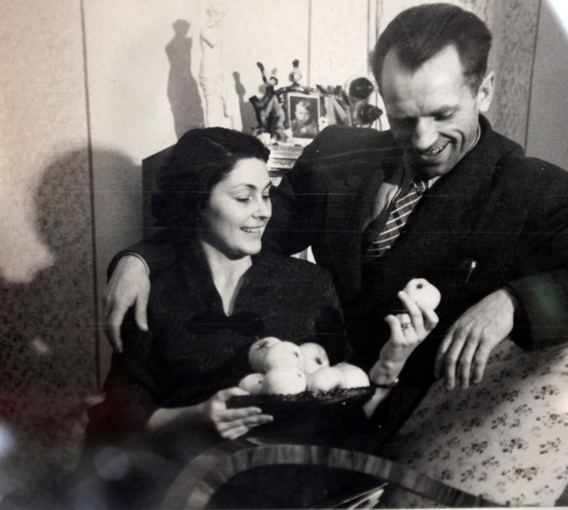 Vladislovas and Danutė Telksniai (1954-1955 m.)