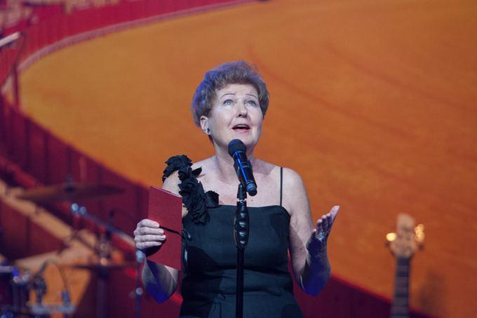Gražina Arlickaitė Sidabrinių gervių 2013 apdovanojimų ceremonijoje