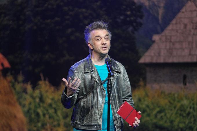 Andrius Mamontovas Sidabrinių gervių 2013 apdovanojimų ceremonijoje