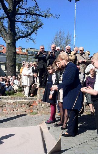Dalia Grybauskaitė Klaipėdoje