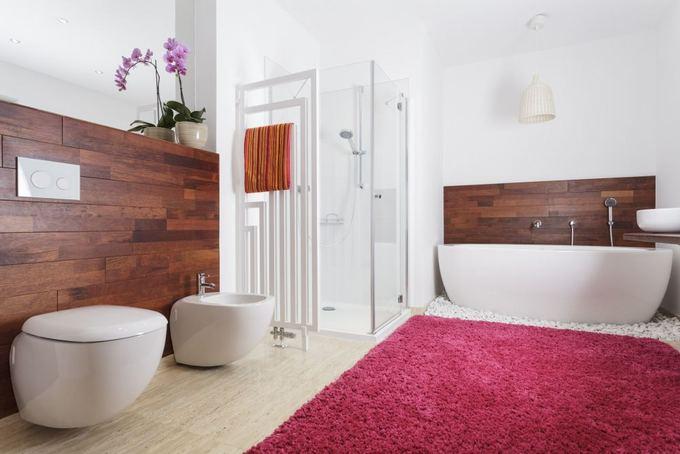 stilingi vonios interjero sprendimai. Black Bedroom Furniture Sets. Home Design Ideas