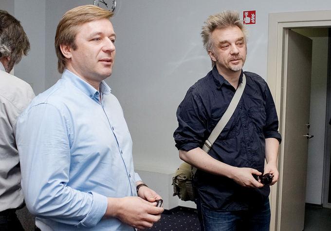 Ramūnas Karbauskis ir Andrius Mamontovas
