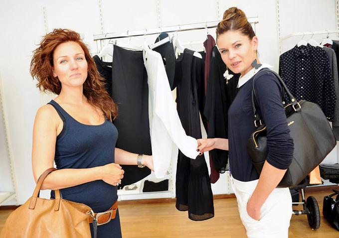 Agnė Gilytė ir Austėja Jablonskytė