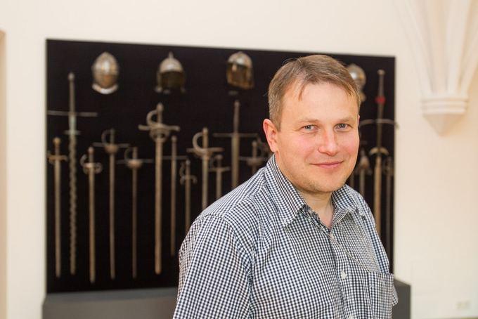 Nacionalinio muziejaus Lietuvos Didžiosios Kunigaikatystės valdovų rūmų direktorius Vydas Dolinskas