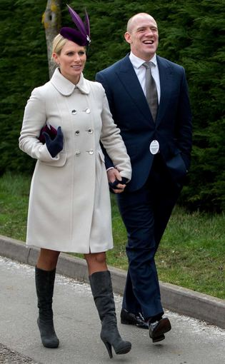 Zara Tindall ir Mike'as Tindallas