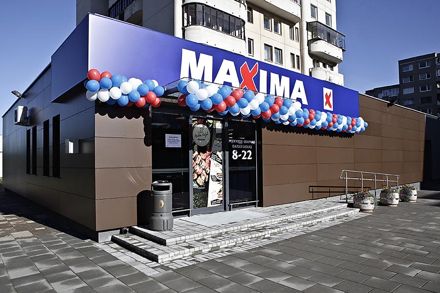 Maxima baze vilnius parduotuves