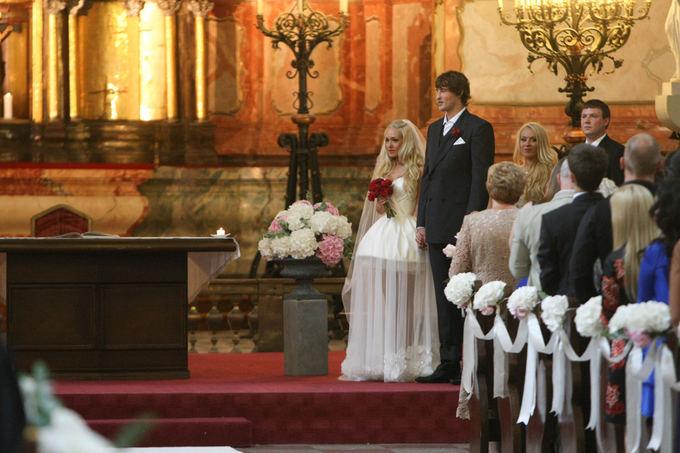 Oksanos Pikul ir Simo Jasaičio vestuvių ceremonija