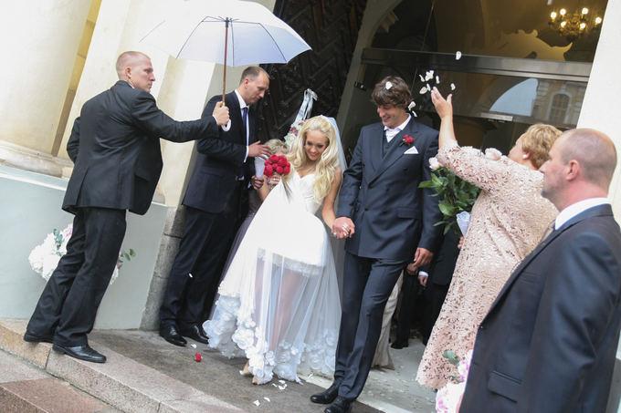 Oksanos Pikul ir Simo Jasaičio vestuvių akimirka