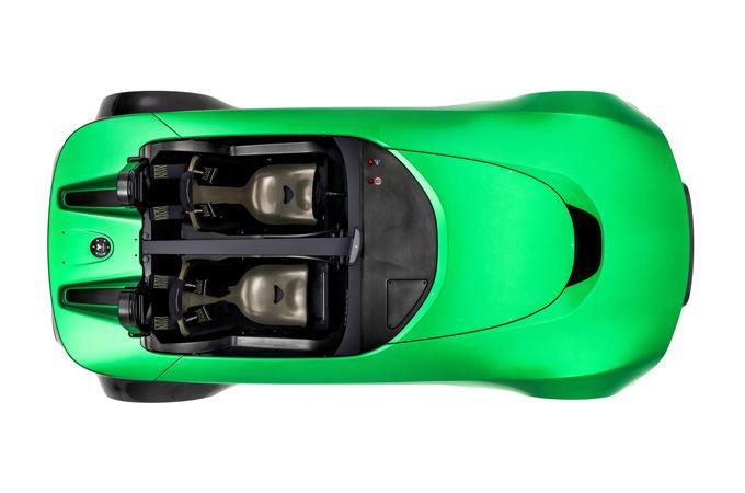 """""""Caterham Cars"""" nuotr./""""Caterham AeroSeven Concept"""""""