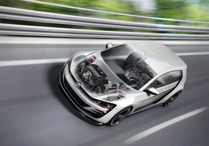 """Volkswagen Design Vision GTI Concept"""