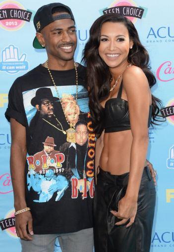 """AFP/""""Scanpix"""" nuotr./Big Sean ir Naya Rivera"""