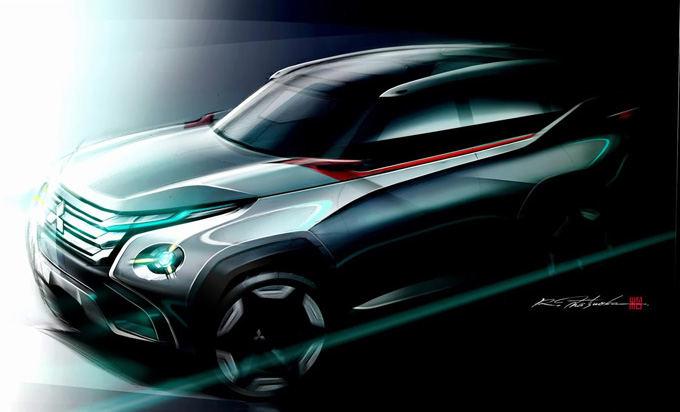 """""""Mitsubishi"""" nuotr./""""Mitsubishi Concept GC-PHEV"""""""