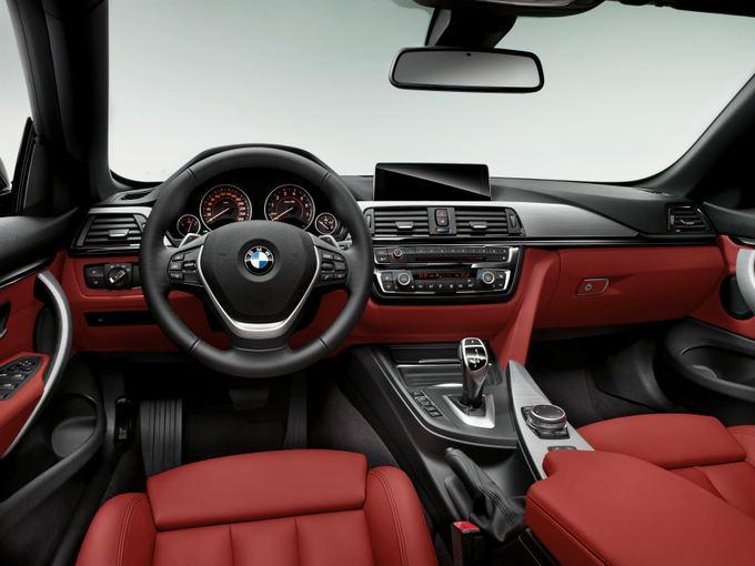 BMW nuotr./4 serijos BMW kabrioleto interjeras