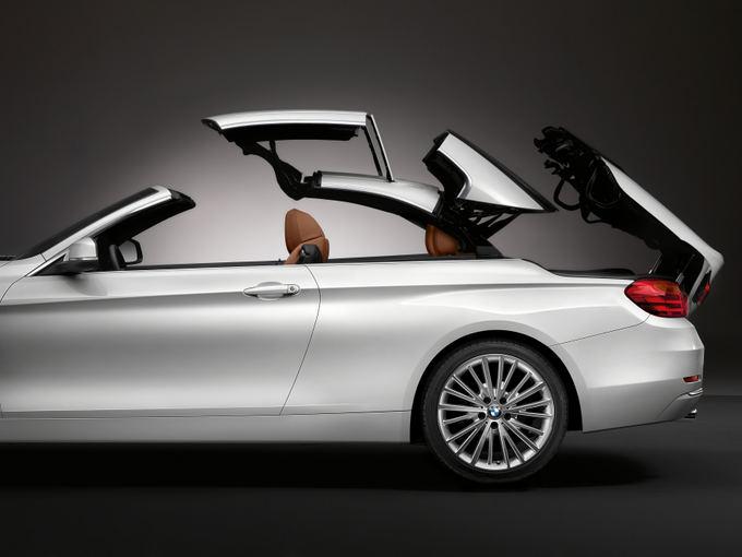BMW nuotr. /4 serijos BMW kabrioleto išorės dizains