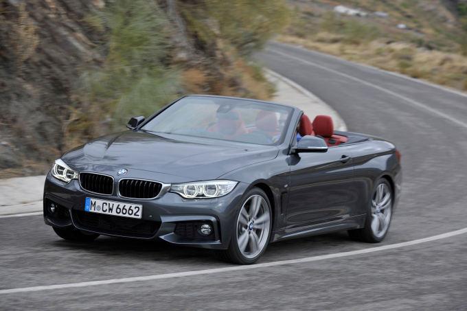 4 serijos BMW kabrioleto išorės dizains