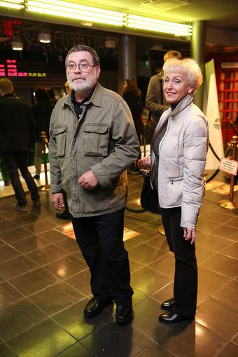 Luko Balandžio/Žmonės.lt nuotr./Kostas Smoriginas su žmona Dalia