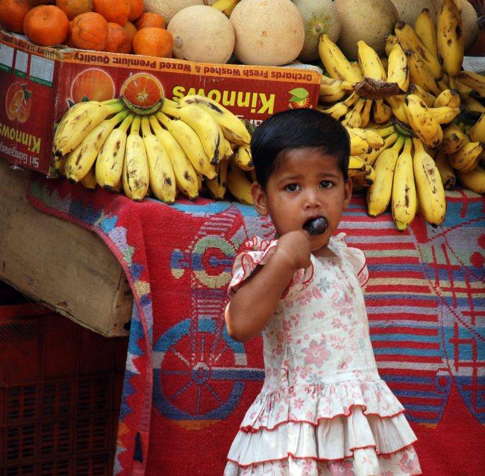 V.Grudžio nuotr./Indijoje vaikai drąsūs