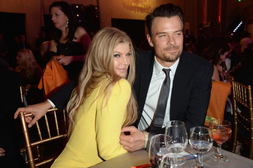 "AFP/""Scanpix"" nuotr./Fergie ir Joshas Duhamelis"