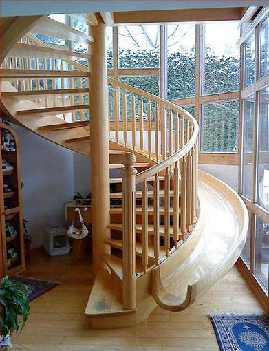 Laiptai-čiuožykla
