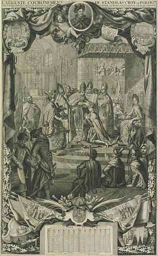 Stanislovo Leščinskio karūnacija Lenkijos karaliumi