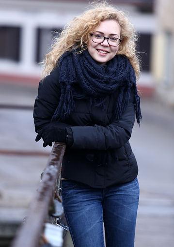 Monika Linkytė be makiažo